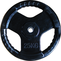 Weight Lifting Plate With Metal 25 kgs COSCO 28507-28707