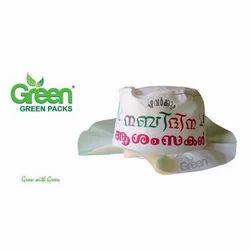 Cream Non Woven Bucket Hat 36b59c1f688