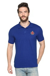 Mens Cotton Casual Polo Collar T Shirt, Size: S to XXL