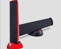 Black Red And White Iball Melody Bar Portable Speaker, 2w Rms Max. (1w X 2)