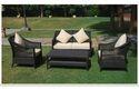 Classic Style Outdoor Rattan Wicker Sofa Set