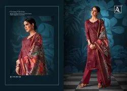 Alok Suits Presents Salwar Kameez