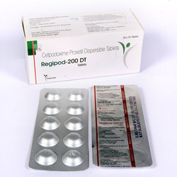 Cefpodoxime Proxetil Dispersible 200mg Tablets