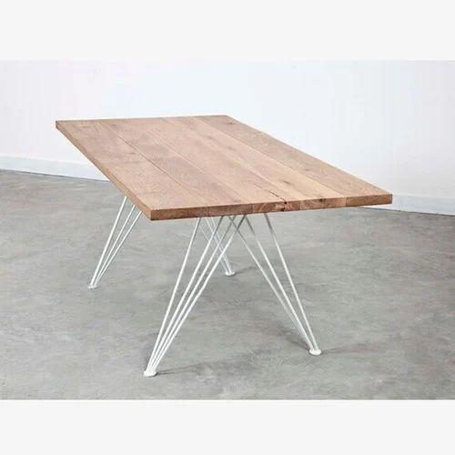 Hairpin Legs Vintage Industrial Table