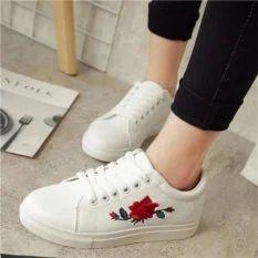 Women Embriodary Sneaker Shoes, Size: 36-41