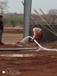 Industrial site work.
