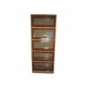 5 Glass Frame Bookcase