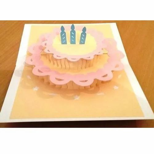 Product Image Read More 3D Popup Birthday Greeting Card