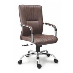 Medium Back Leather Executive Chair