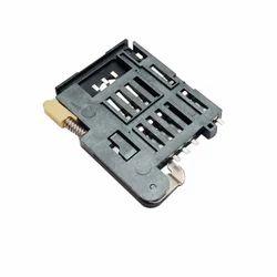 Sim Card Holder 8 Pin Push Type Plastic Body