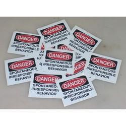 Laminated Stickers