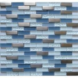 Pearl Mosaico Hand Cut Glass Mosaic Tiles