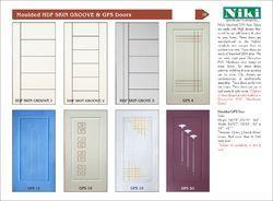 Moulded HDF Skin Groove Door u0026 Single Panel Moulded Doors  sc 1 st  IndiaMART & HDF Moulded Door - High Density Fibreboard Moulded Door ... pezcame.com