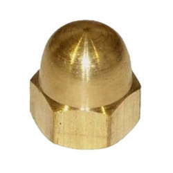Hexagonal Brass Dome Nuts, for Industrial