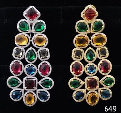 Designer CZ Earring