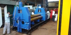 3 Roll Pyramid Type Plate Bending Machine