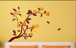 Wall Ons Multi Coloured Branch Wall Sticker