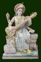 Marble Saraswati Idol Manufacturer