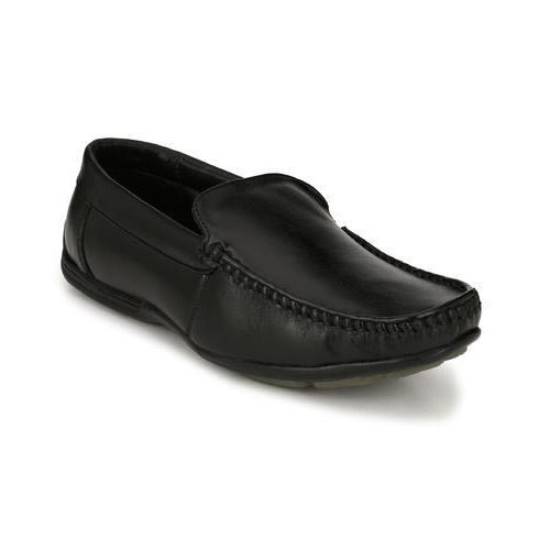 46732e067d3 Black Leather Men  s Loafer Shoes