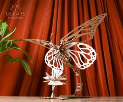 Butterfly 3D Mechanical DIY Craft Wooden Miniature Model