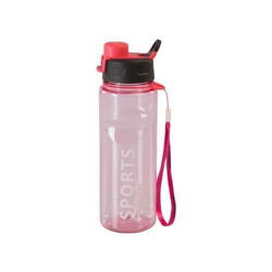 Varmora Clear Sport Plastic Water Bottle, 650ml, Blue