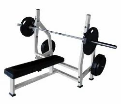 Realleader USA Olympic Flat Bench for Gym, Size: 1800x1260x1300mm