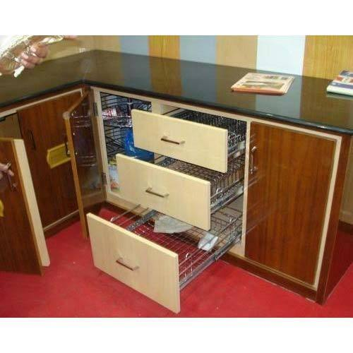 Stainless Steel Modular Kitchen Trolley, Rs 3000 /running