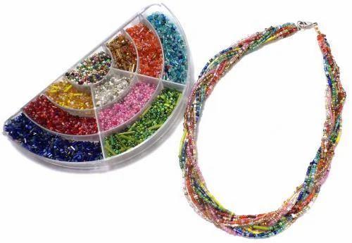 18b52584ab941 Jewellery Making Mix Seed Beads Diy Kit