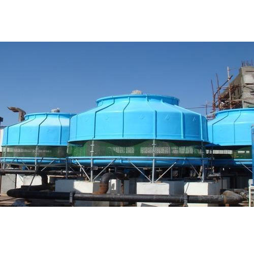 Single Phase Round Cooling Towers, Counter Flow