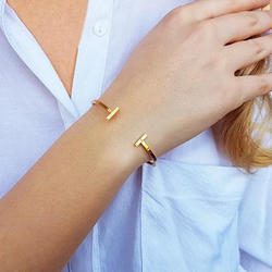 Daily Wearing Cuff Bangle Bracelet