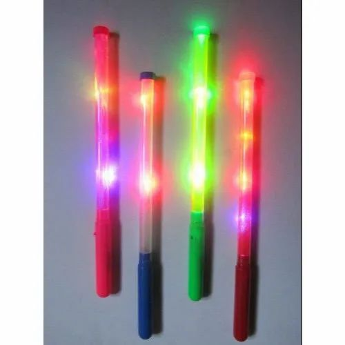 Round Dandiya LED Light Sticks, For Party, Rs 20 /piece Creator | ID:  20560169088