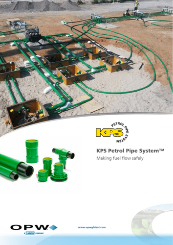HDPE Fuel Pipeline