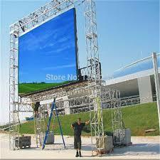 High Definition LED Advertising Curtain Display