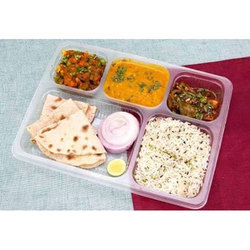 Five Compartment Packed Meal Tray