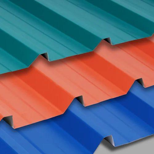 Metal Roofing Sheet Dimensions 3 5 X 10 12 14 16 Feet Rs 110 Feet Id 11840884812