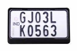 Scooter Number Plate Frame