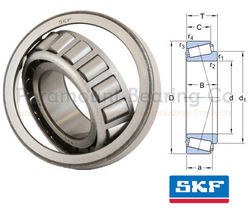 T2ED050/Q SKF Tapered Roller Bearings
