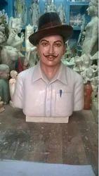 Bhagat Singh Marble Statue