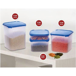 Square Plastic Container Set