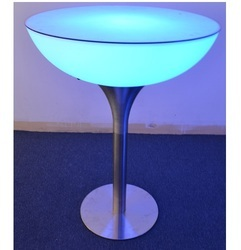 LED Half Moon Table