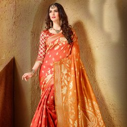 Fancy Designer Wedding Saree