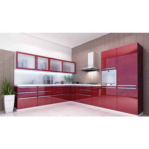 Hardwin / Hettich Designer Modular Kitchen, Rs 1200 /square feet ...
