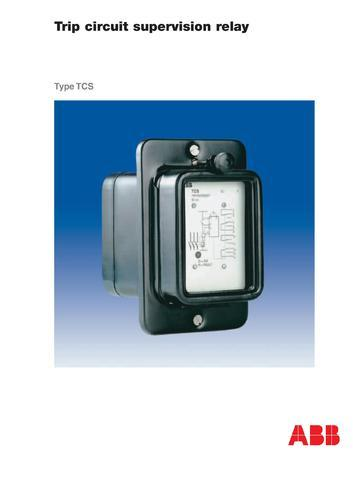 ABB Relays - ABB Make Trip Circuit Supervision Relay ... on