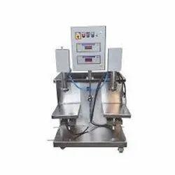 Semi Automatic Two Head Filling Machine