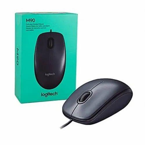 Logitech M90 Mouse at Rs 350/piece | Logitech Computer Mouse | ID: 21794500012