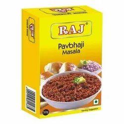 Raj Pav Bhaji Masala, Packaging Size: 50to 500