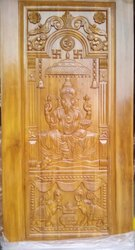 Teak Wood Carved Door