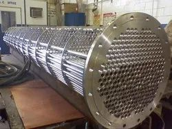 Stainless Steel Heat Exchanger, For Pharmaceutical industry, Capacity: 10000 Lph