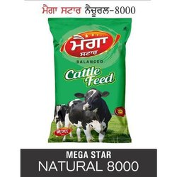Mega Star Natural 8000 Cattle Feed