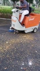 Ride On Battery Operated Sweeper Machine